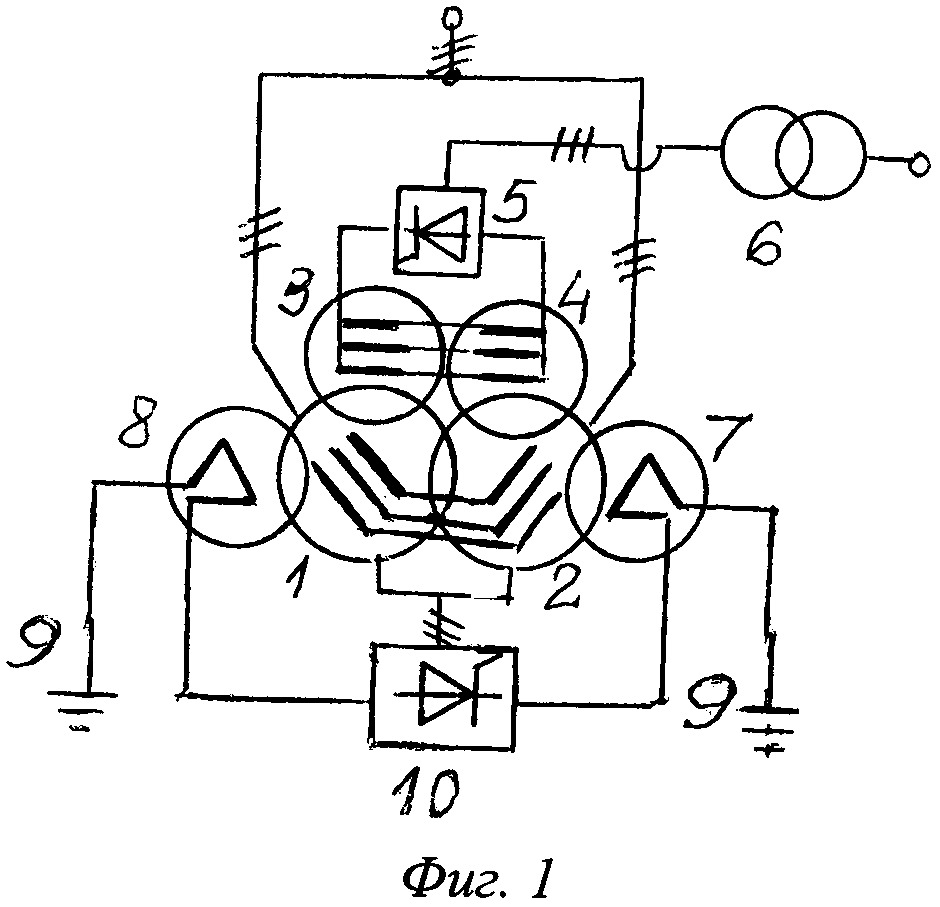 Шунтирующий реактор со смешанным возбуждением (варианты)