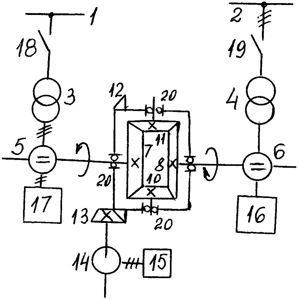 Гибкая электромеханическая связь энергосистем