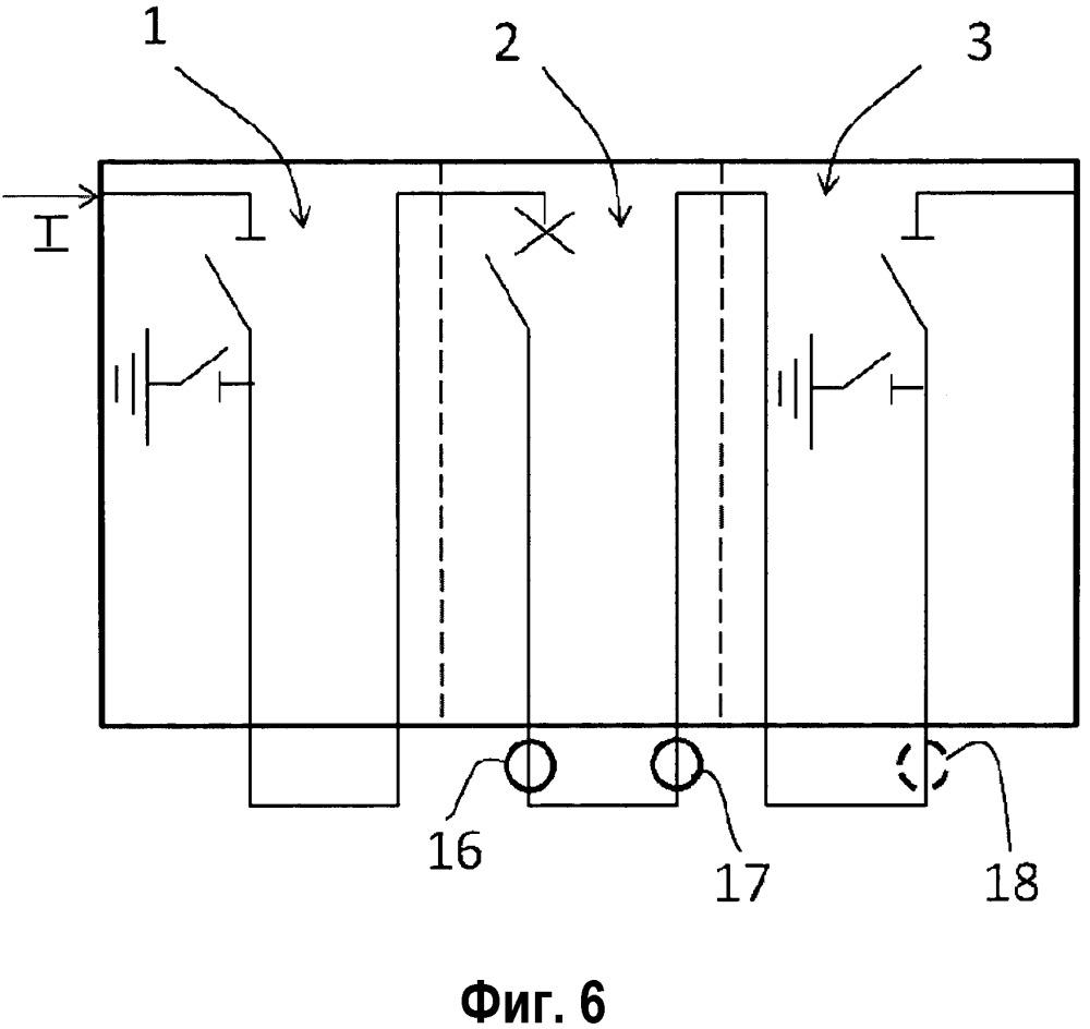 Электрический защитный прибор для среднего напряжения с измерением тока
