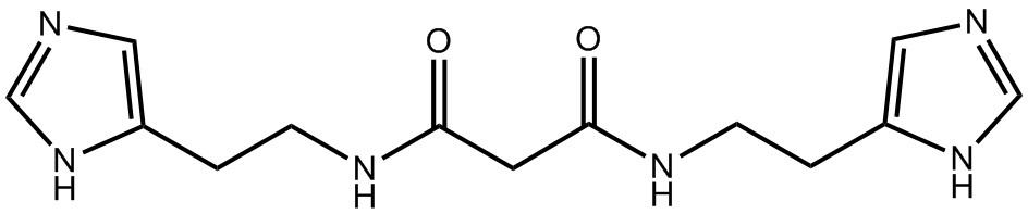 Применение бисамидного производного малоновой кислоты для лечения аллергических и других заболеваний человека и животных