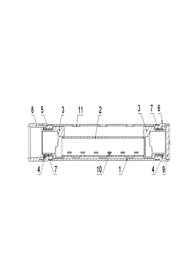 Гравитационный сепаратор для горизонтальных скважин