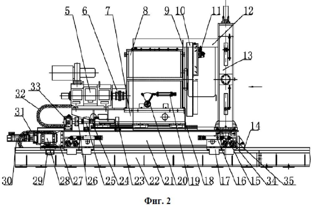 Полностью автоматизированный станок для снятия фаски на торцах стальных труб