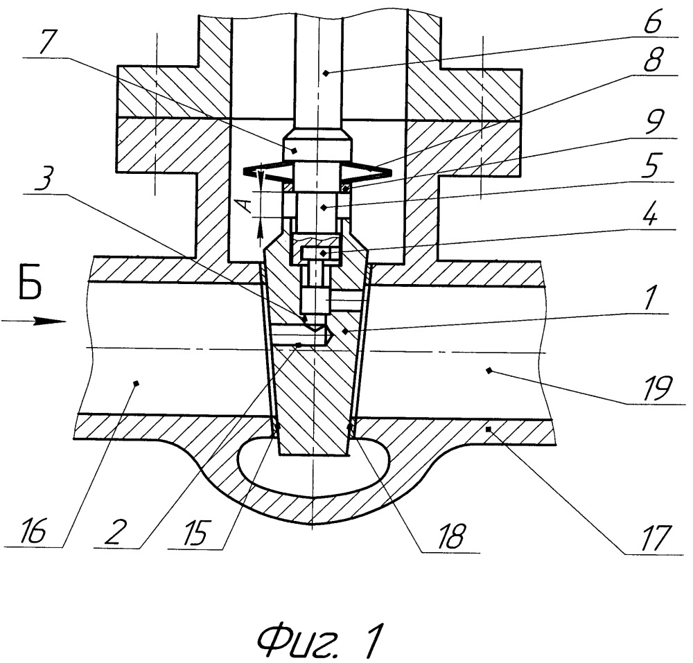 Затвор запорной трубопроводной арматуры