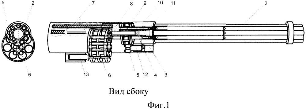 Многоствольная артиллерийская система