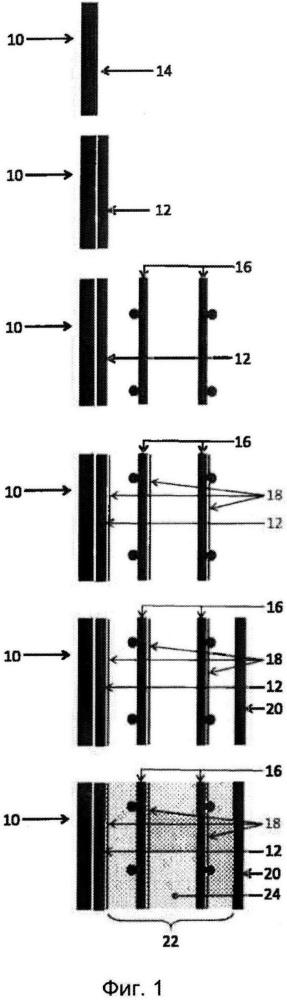Способ изготовления гидрогерметизированных поверхностей из материалов на основе цемента