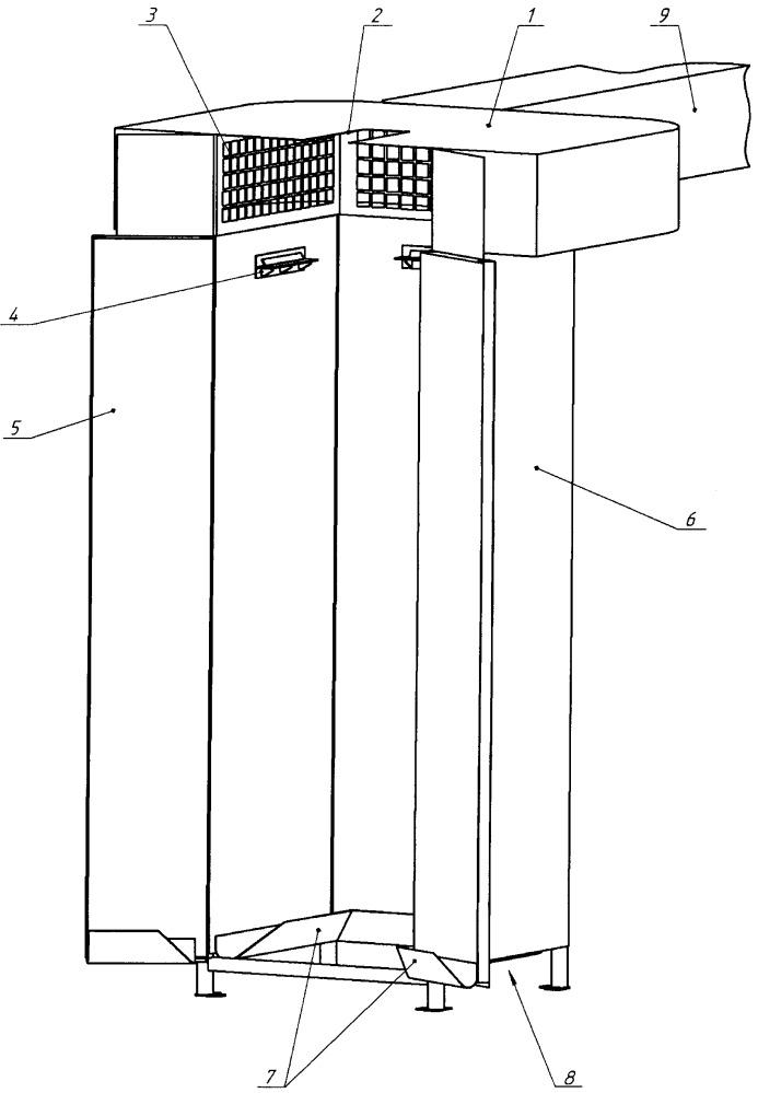 Устройство закалки тонкостенных длинномерных деталей из легированных сталей в управляемом потоке воздуха