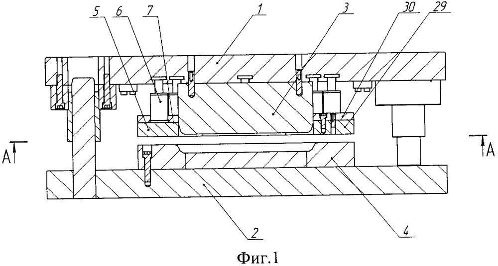 Способ листовой штамповки и дифференцированное прижимное устройство штампа листовой штамповки