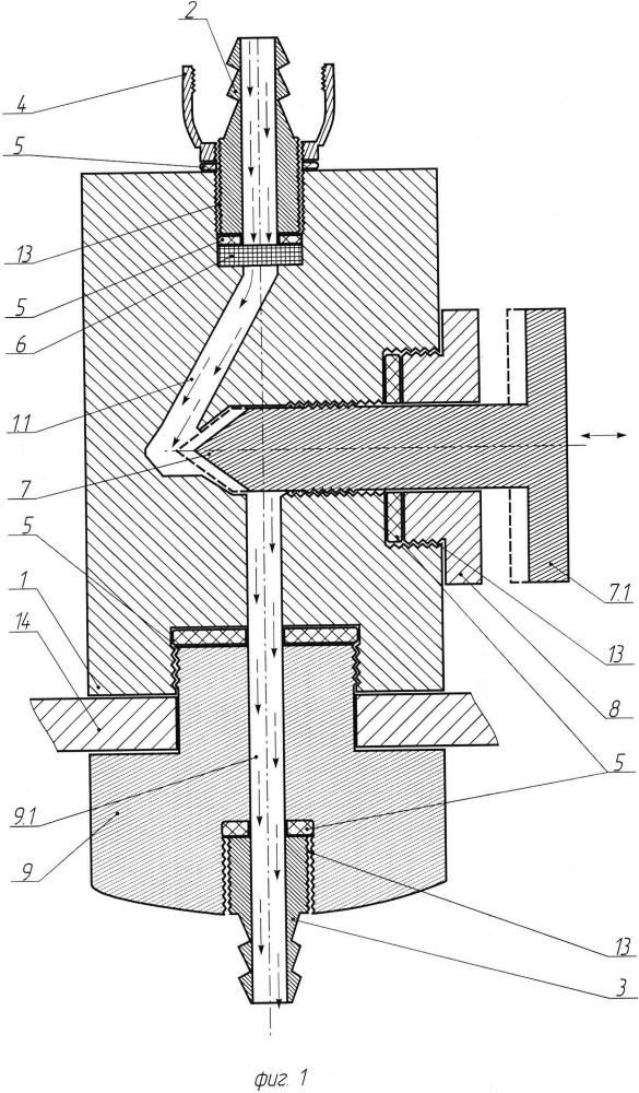 Способ регулирования подачи жидкости в распылительное устройство и регулятор подачи жидкости для осуществления заявленного способа