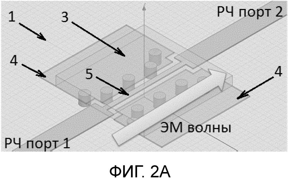 Оптически-управляемый ключ миллиметрового диапазона