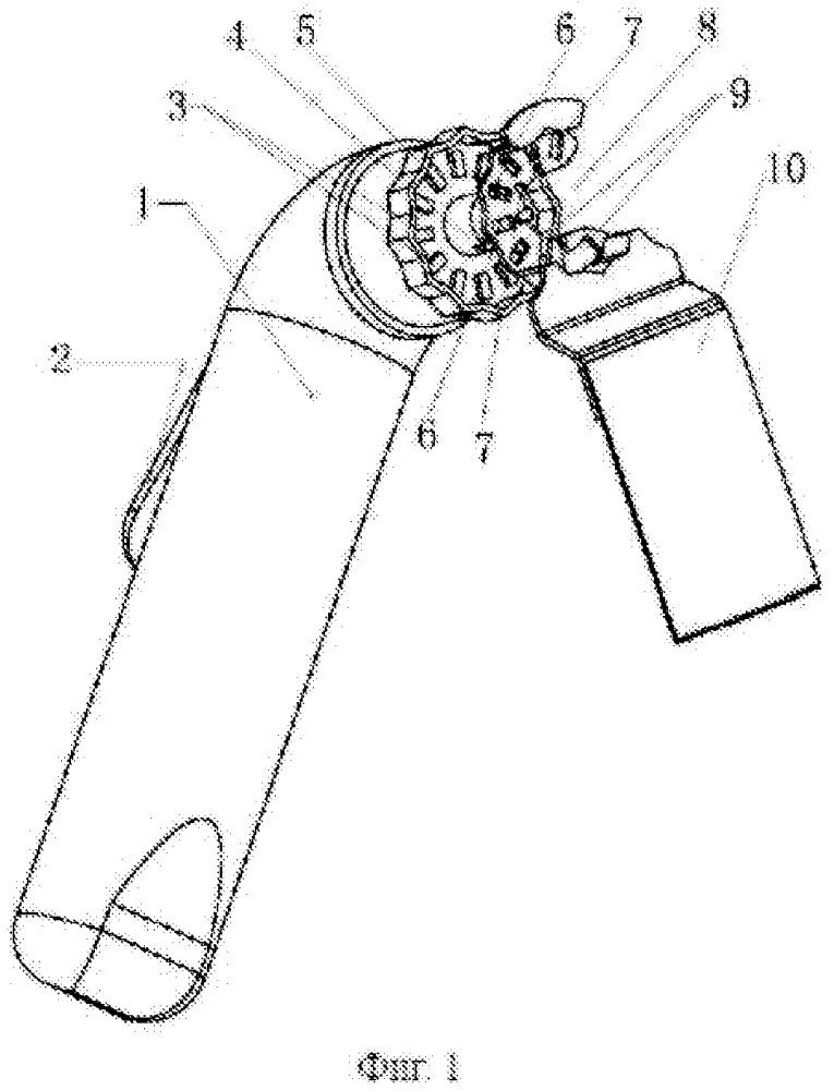 Многофункциональная вибрационная инструментальная головка, выполненная с возможностью быстрой установки