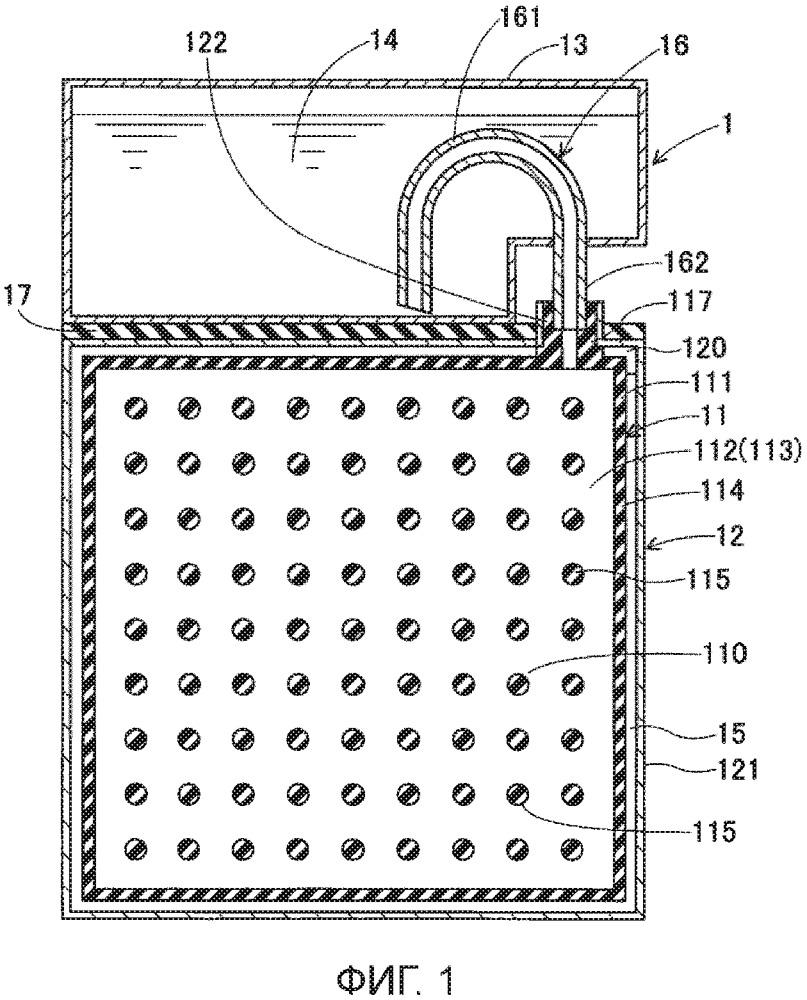 Батарея с расплавленным натрием и перегородка для батареи с расплавленным натрием