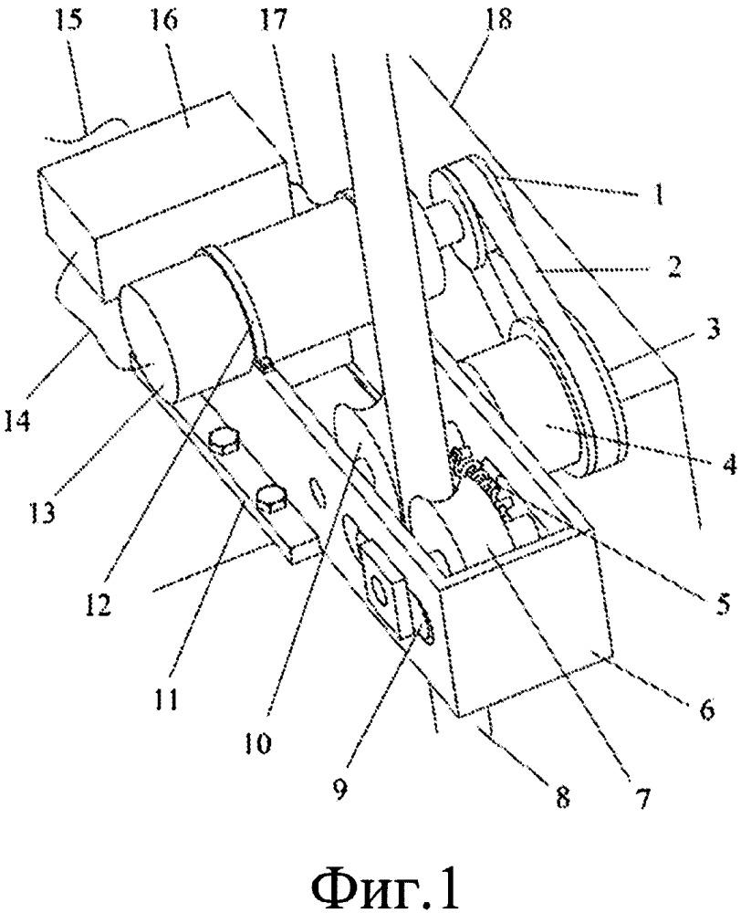 Энергогенерирующее устройство подъемного сосуда с использованием гибкой направляющей системы