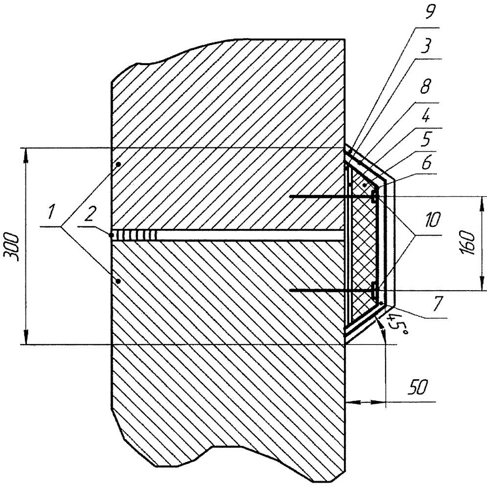 Конструкция для герметизации и утепления межпанельных швов