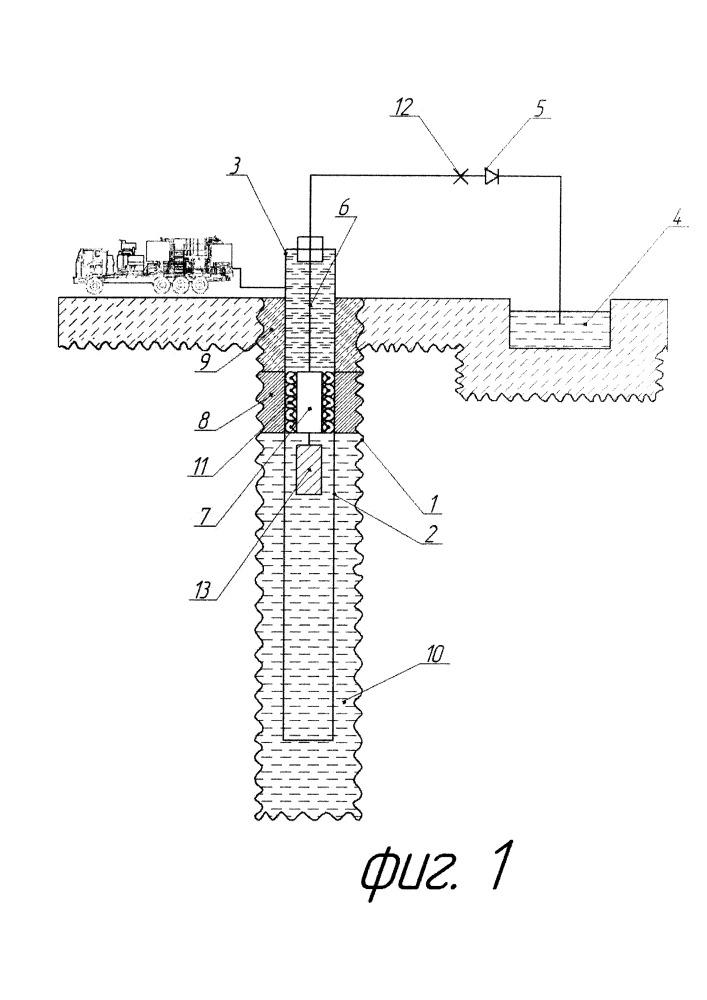 Способ обратного цементирования обсадных колонн