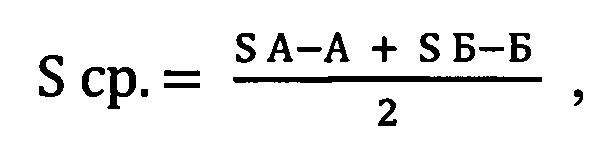 Способ расчёта объёма грунта при строительстве автодорог, ж/д путей на круговых и переходных кривых трассы с помощью поперечных сечений с применением рубленых расстояний (пс-рр)
