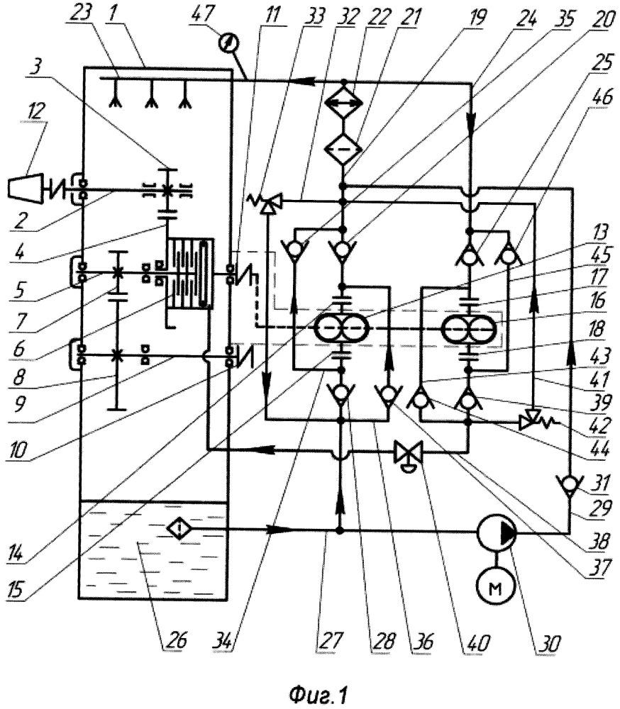 Главный судовой газотурбинный агрегат с реверсивным двигателем