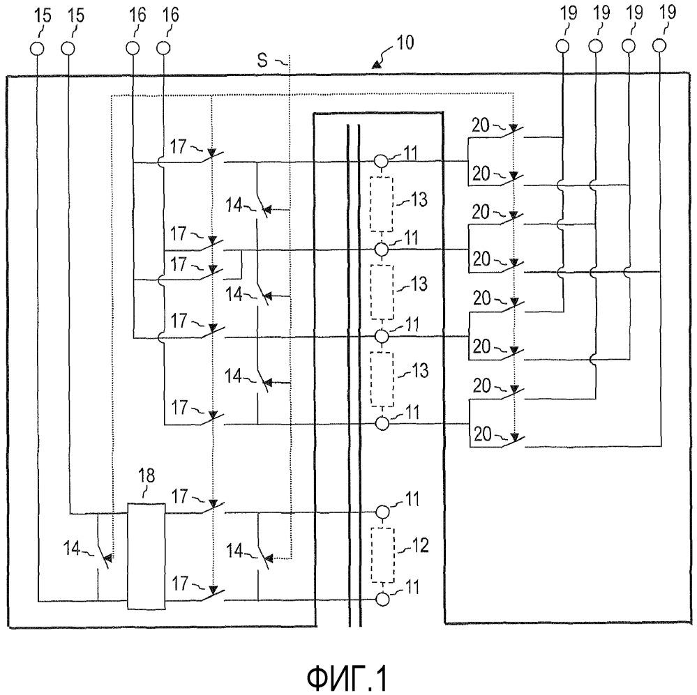 Коммутационное устройство, испытательное устройство и способ эксплуатации коммутационного устройства для измерительного устройства для трансформатора