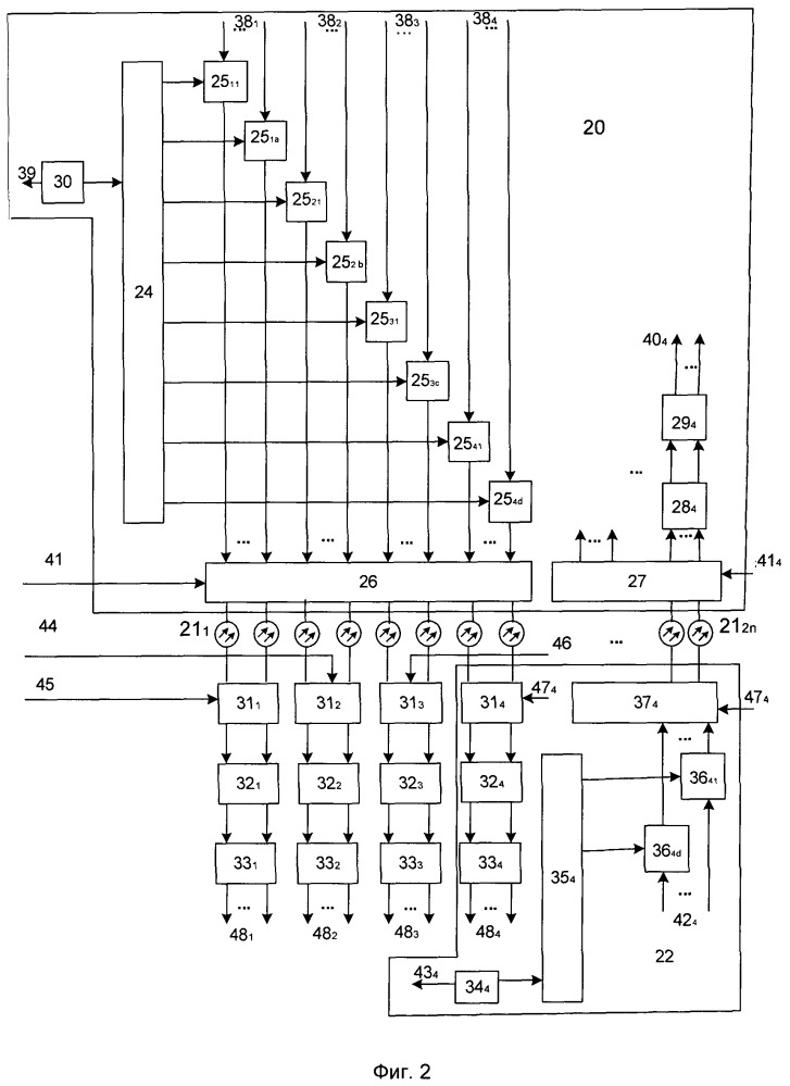 Система радиосвязи с подвижными объектами с применением радиофотонных элементов