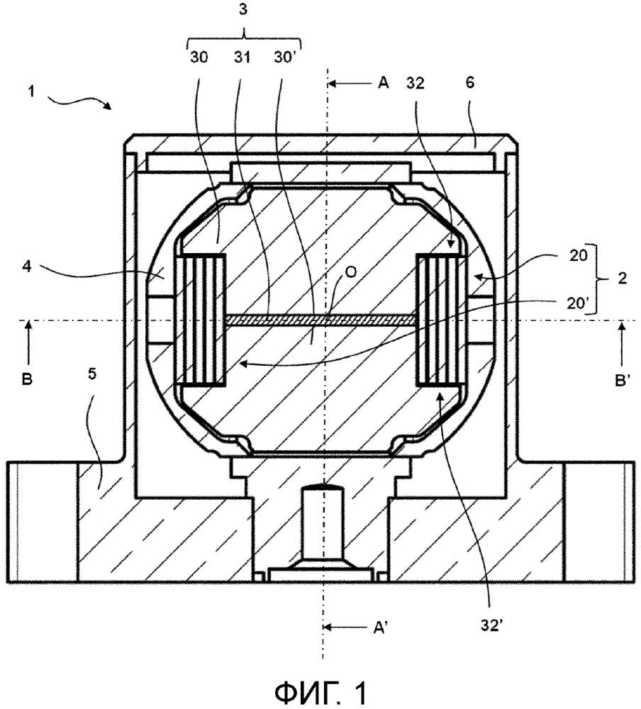 Устройство для измерения ускорения и способ изготовления такого устройства для измерения ускорения
