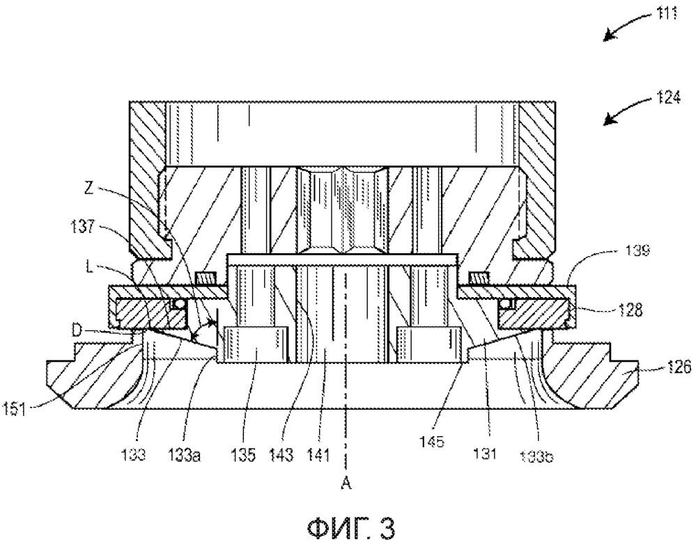 Устройство изменения скорости в проточном канале для регулирующего клапана