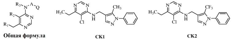 Соединения замещенного пиразола, содержащего пиримидинил, их получение и применение