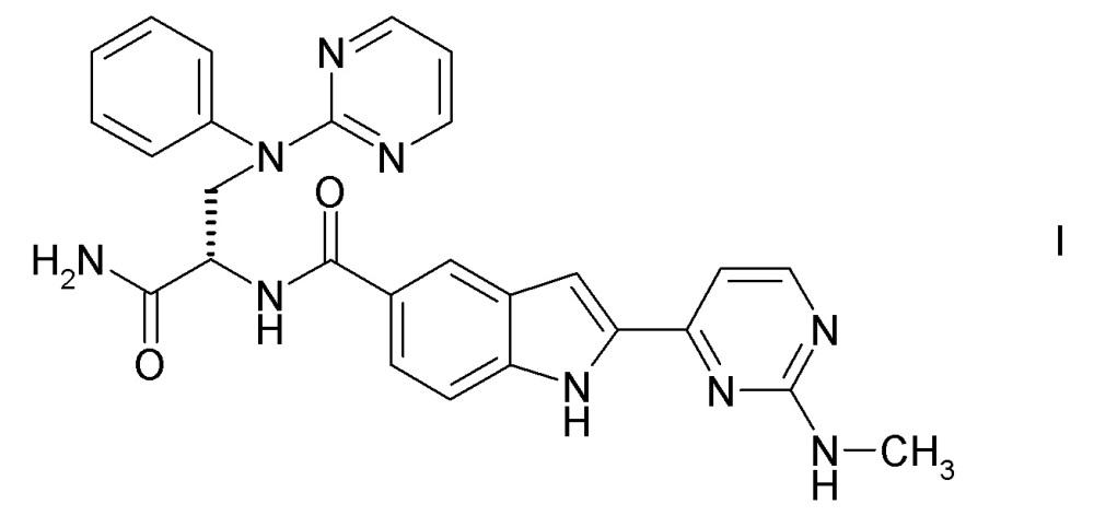 [(s)-1-карбамоил-2-(фенилпиримидин-2-иламино)этил]амид 2-(2-метиламинопиримидин-4-ил)-1h-индол-5-карбоновой кислоты для применения в лечении связанной с остеоартритом боли