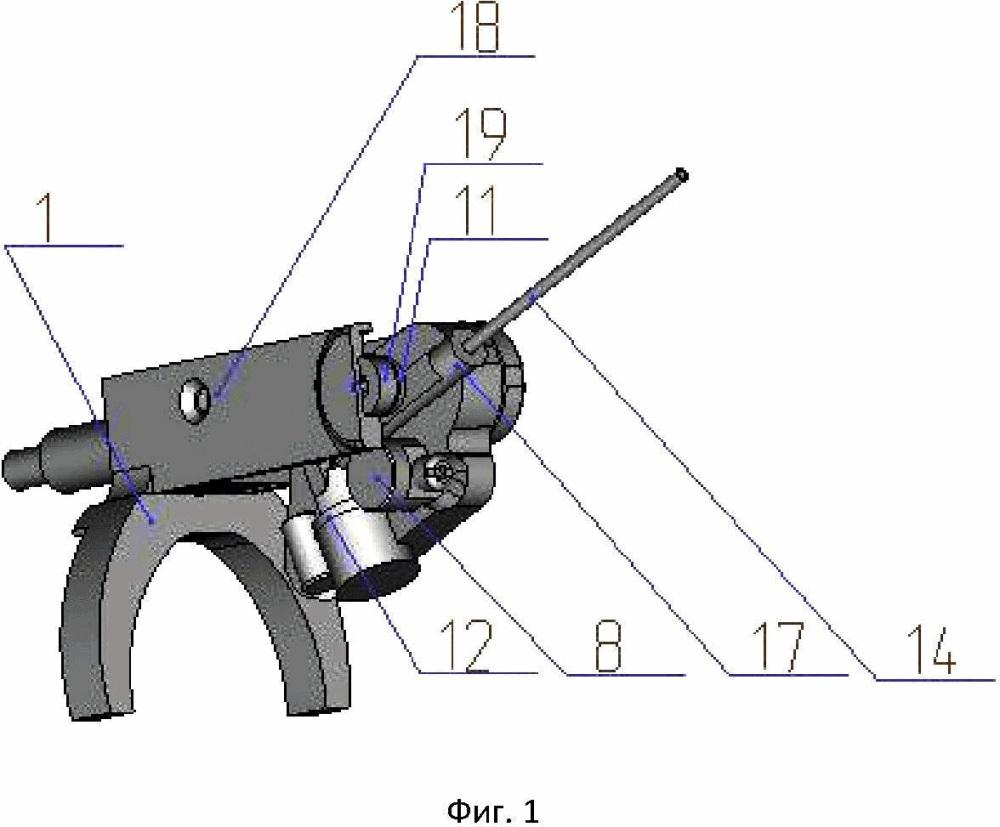 Безкивковая зимняя удочка с магнитной балансировкой и модулем световой и звуковой сигнализации