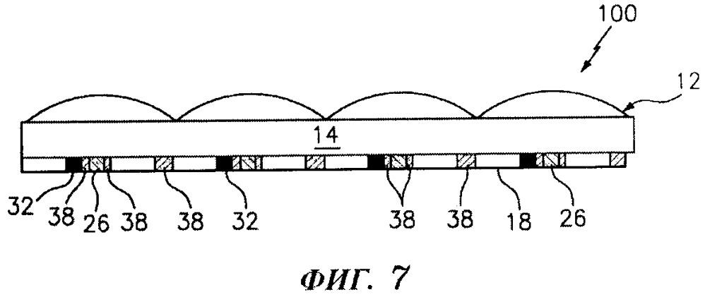Оптическое устройство, создающее похожие на мерцание оптические эффекты