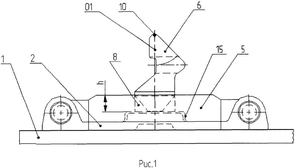 Устройство для крепления контейнеров на платформе