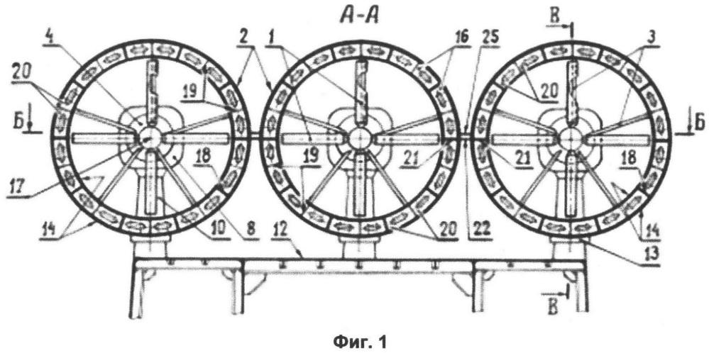 Винто-кольцевой комплекс амфибийного судна на воздушной подушке