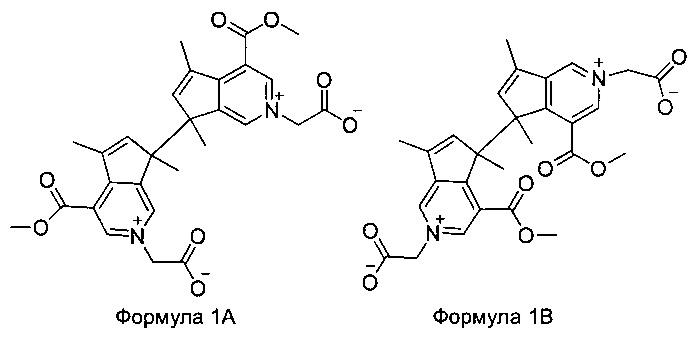 Соединения, представляющие собой красители, полученные из генипина или материалов, содержащих генипин