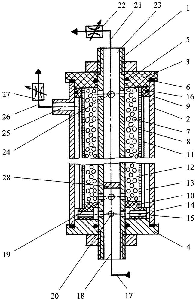 Устройство для электроактивации воды
