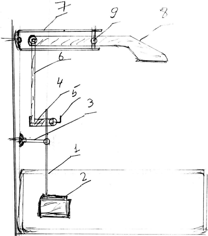 Механическая рука для ванны