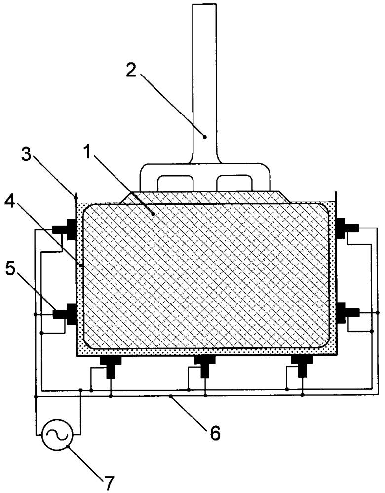 Способ защиты угольной части анода от окисления