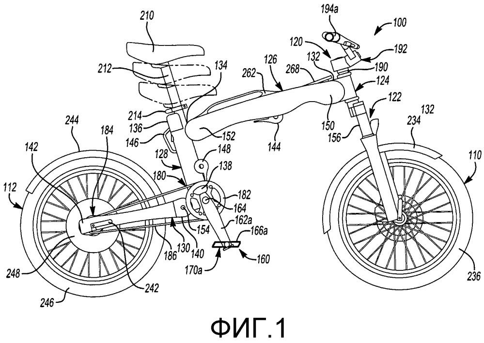 Складываемый рулевой механизм велосипеда (варианты)