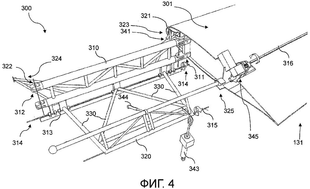 Центральная панель крыла для летательного аппарата и способ для ее управления
