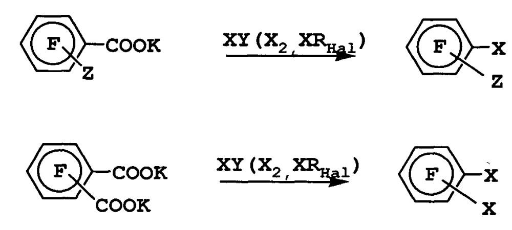 Способ получения галогенполифторбензолов