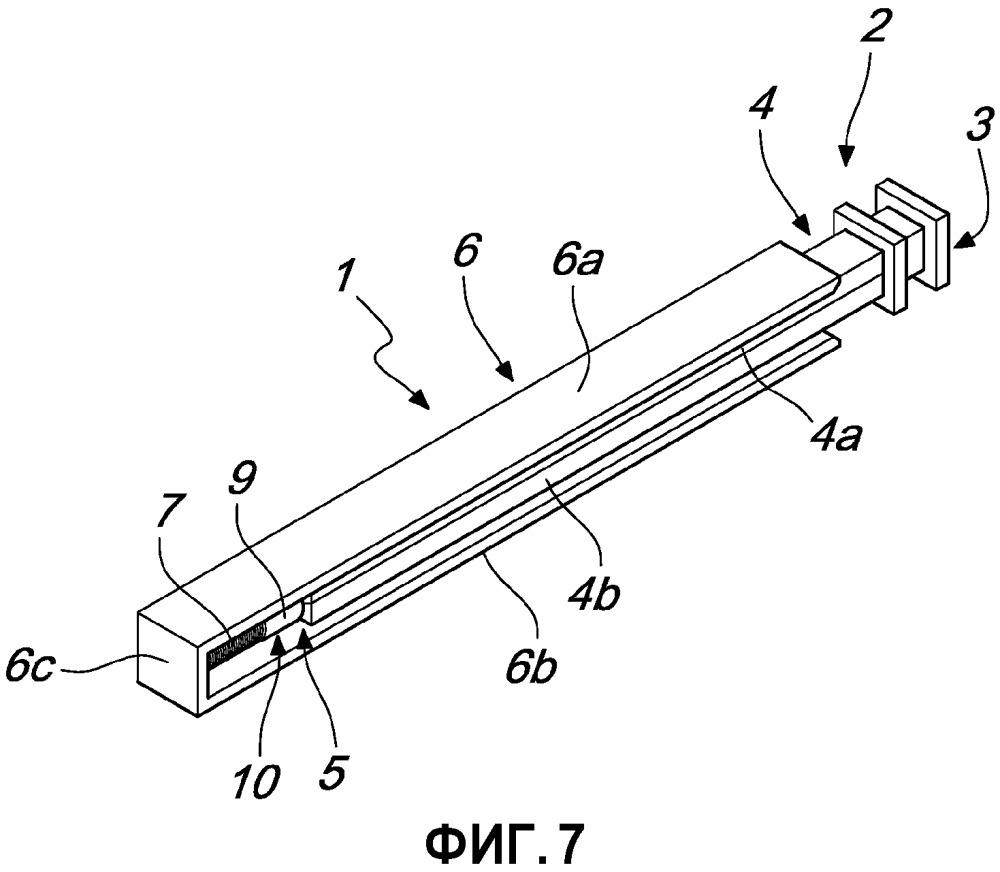 Демпфирующее или возвратное устройство для скользящих дверных полотен или для выдвижных ящиков