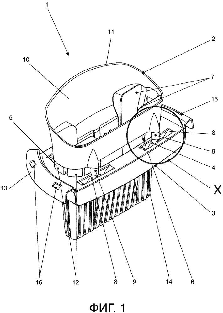 Отжимное устройство для инструмента для влажной уборки