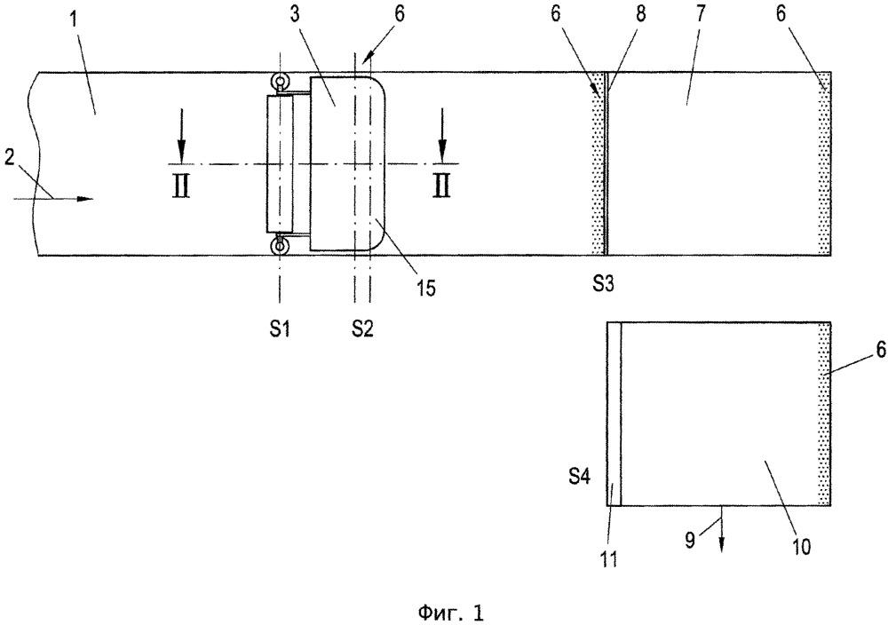 Способ и устройство для изготовления мешков из рукава, изготовленного из ткани