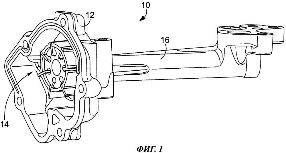 Шумоподавляющее устройство для масляного насоса (варианты)