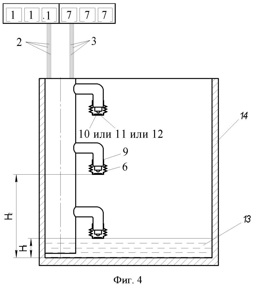 Волоконно-оптический уровнемер-сигнализатор давления