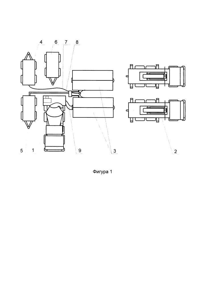 Мобильный комплекс по производству блоков пенополистирола