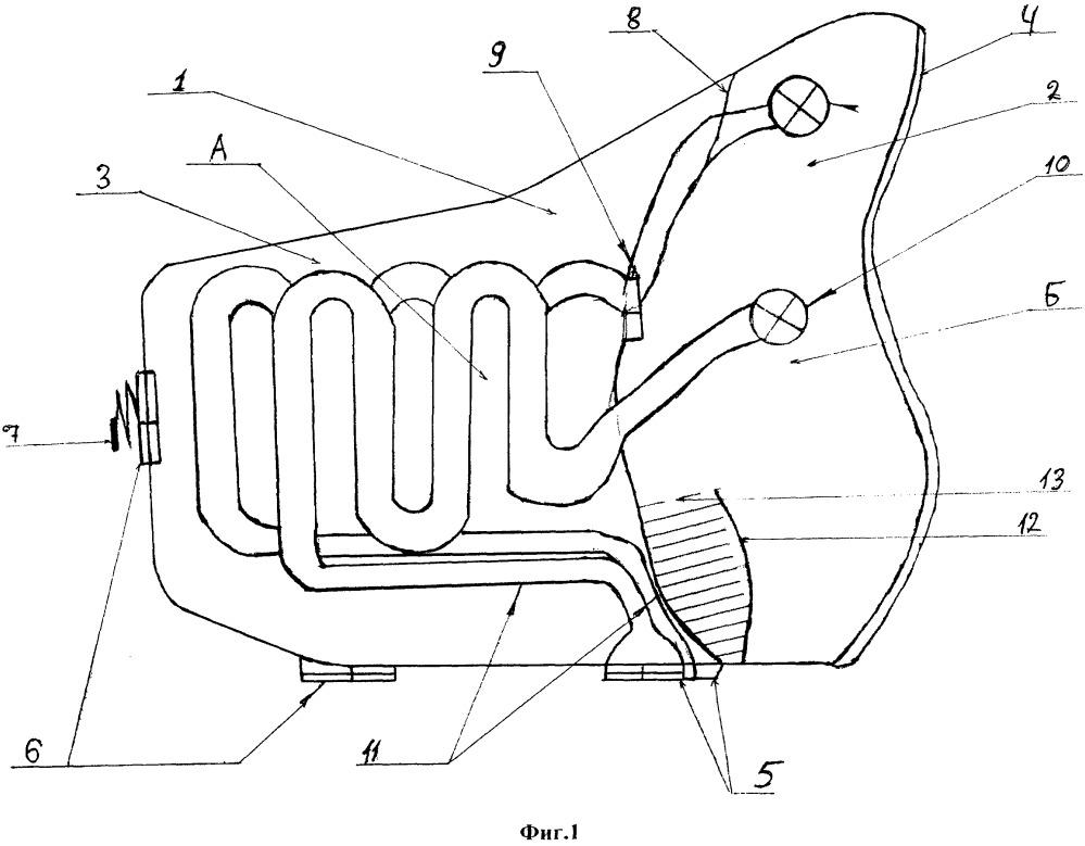 Полумаска для защиты органов дыхания и лица от аномально низких температур