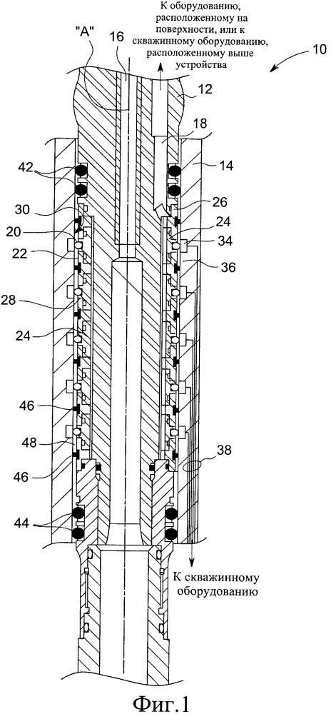 Удержание электрических пружинных контактов для мокрого соединения компонентов скважинного инструмента