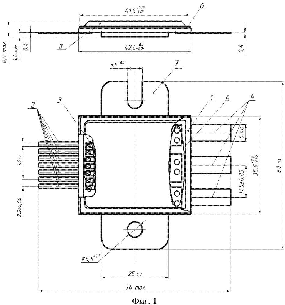 Металлокерамический корпус силового полупроводникового модуля на основе высокотеплопроводной керамики и способ его изготовления