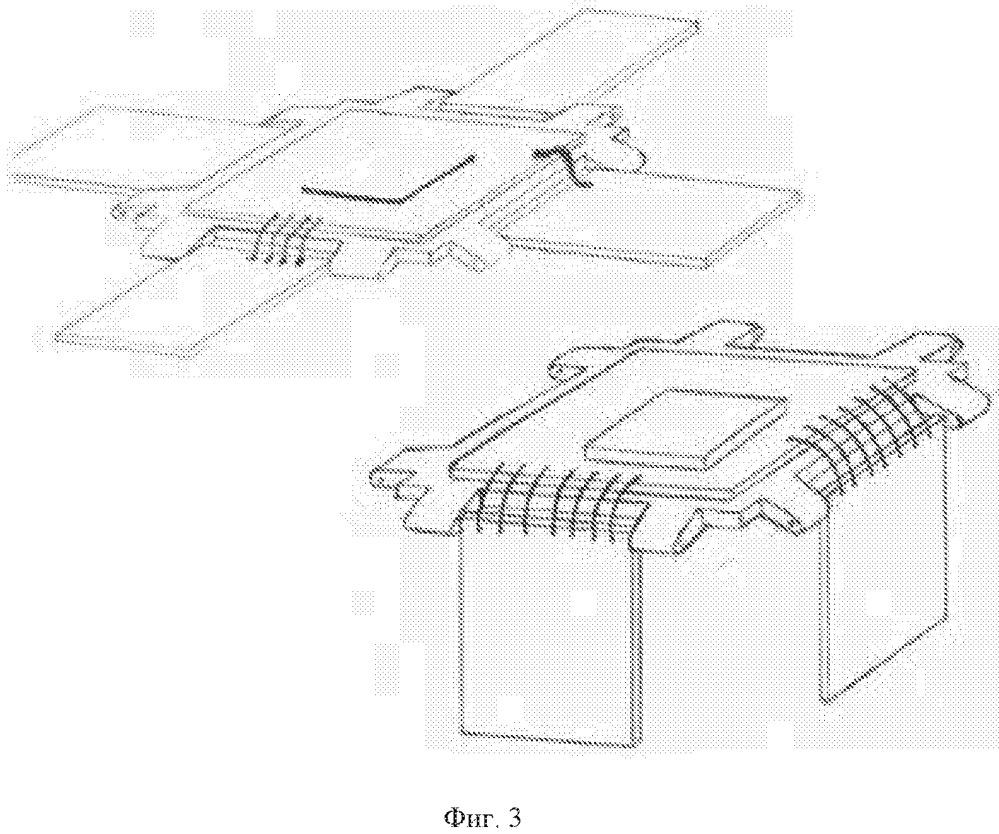 Способ сборки гибридной фотоэлектрической схемы при непараллельном монтаже элементов