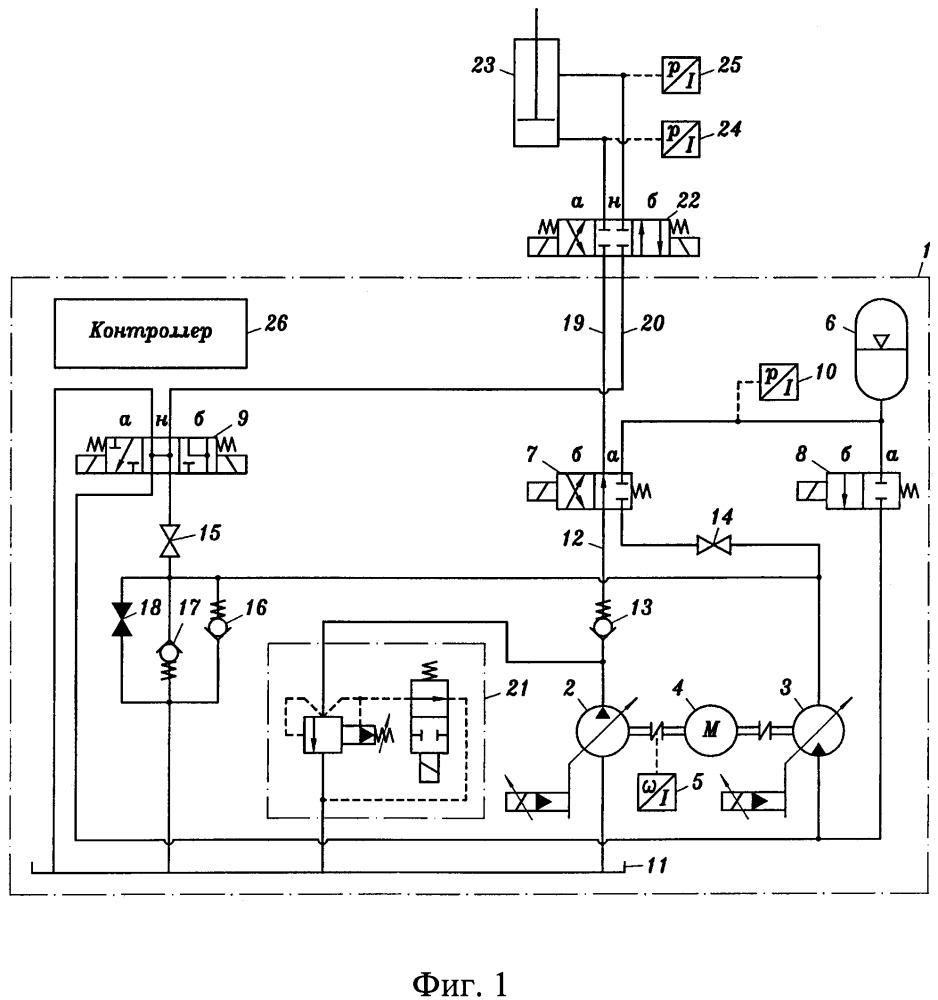 Гидравлический блок рекуперации энергии