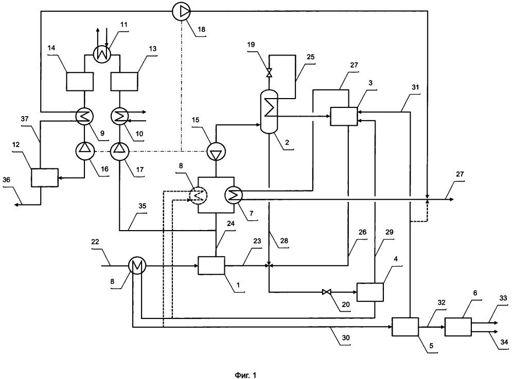 Установка низкотемпературной дефлегмации с сепарацией нтдс для подготовки природного газа с получением сжиженного природного газа и способ ее работы (варианты)