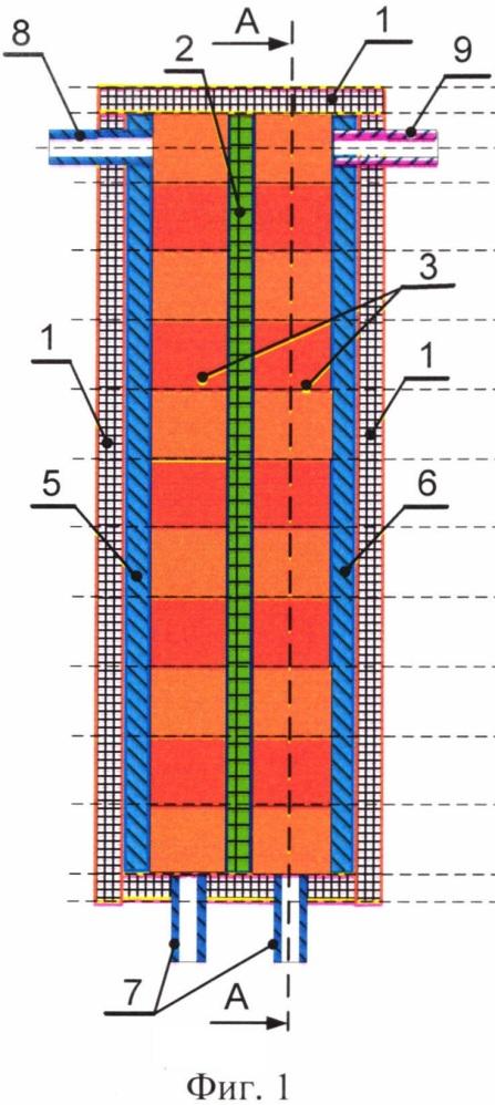 Устройство для электролиза водных растворов